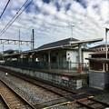 写真: 藤岡駅 旧1番線ホーム