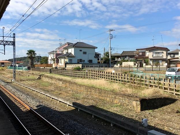 静和駅 ホーム跡
