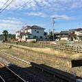 写真: 静和駅 ホーム跡