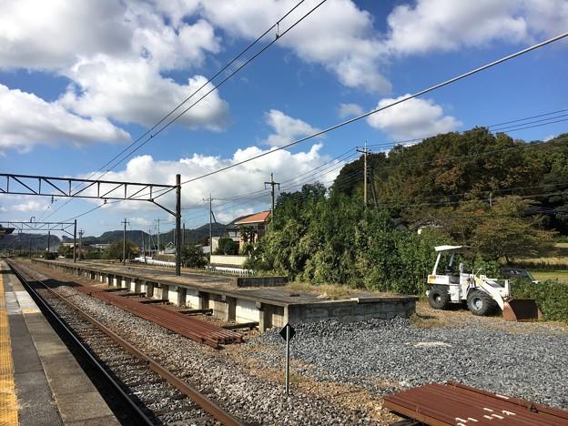 大平下駅 旧ホーム
