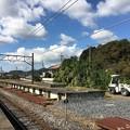 写真: 大平下駅 旧ホーム