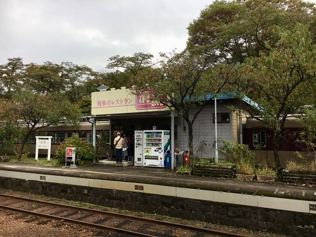 神戸駅 列車のレストラン「清流」