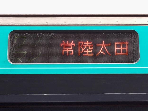 JR水郡線 ワンマン:常陸太田行き