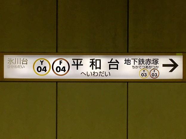 平和台駅 Heiwadai Sta.
