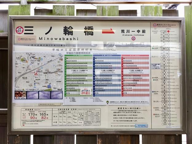 三ノ輪橋停留場 Minowabashi Sta.