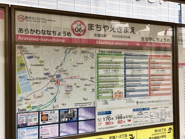 町屋駅前停留場 Machiya-ekimae Sta.