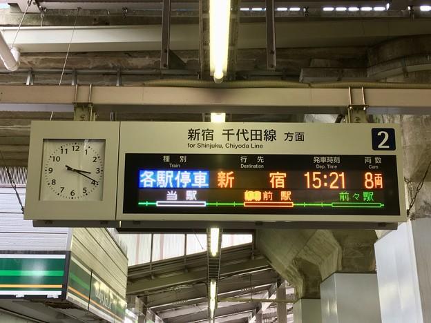小田急電鉄 百合ヶ丘駅の発車標
