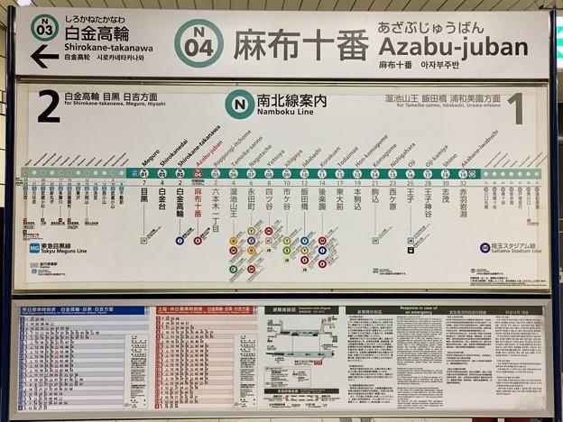 麻布十番駅 Azabu-juban Sta.