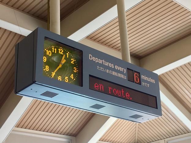 ディズニーリゾートライン 東京ディズニーランド・ステーション駅の発車標