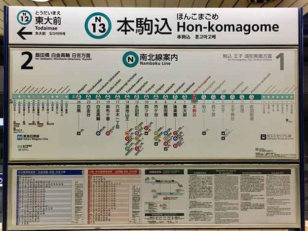本駒込駅 Hon-komagome Sta.