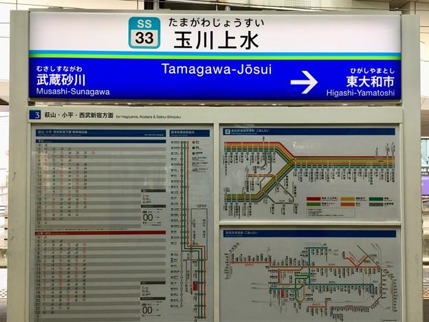 玉川上水駅 Tamagawa-Josui Sta.