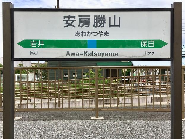 安房勝山駅 Awa-Katsuyama Sta.