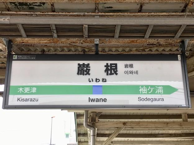 巌根駅 Iwane Sta.