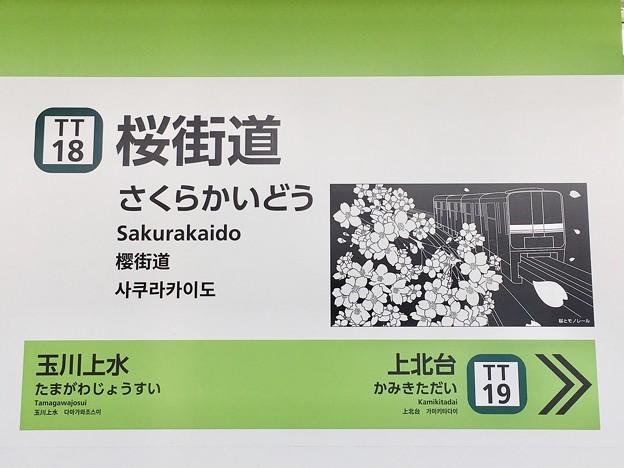 桜街道駅 Sakurakaido Sta.