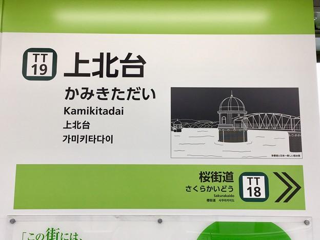 上北台駅 Kamikitadai Sta.