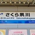 Photos: さくら夙川駅 Sakurashukugawa Sta.