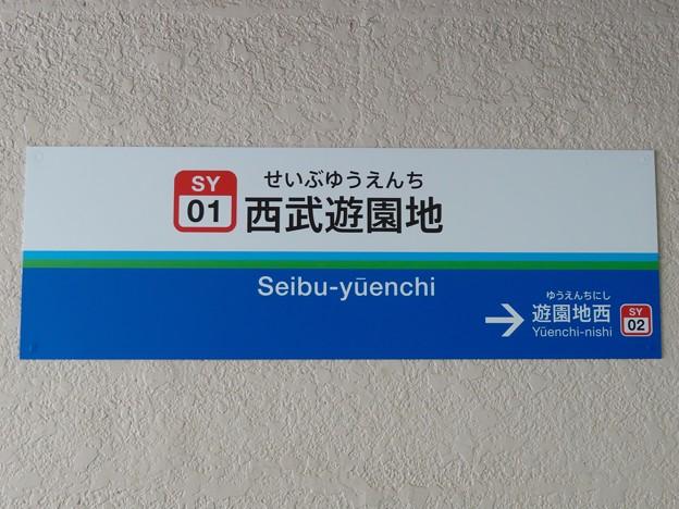 西武遊園地駅 Seibu-yuenchi  Sta.
