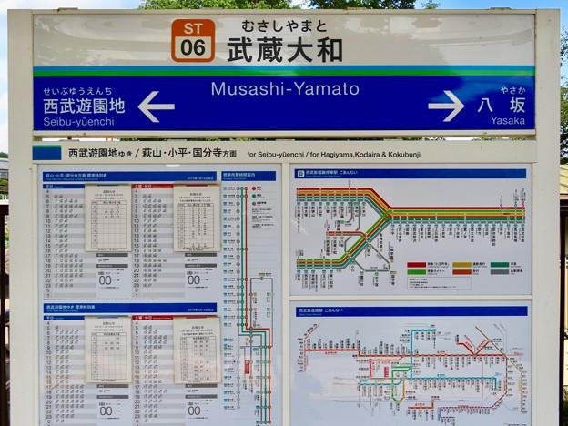 武蔵大和駅 Musashi-Yamato  Sta.