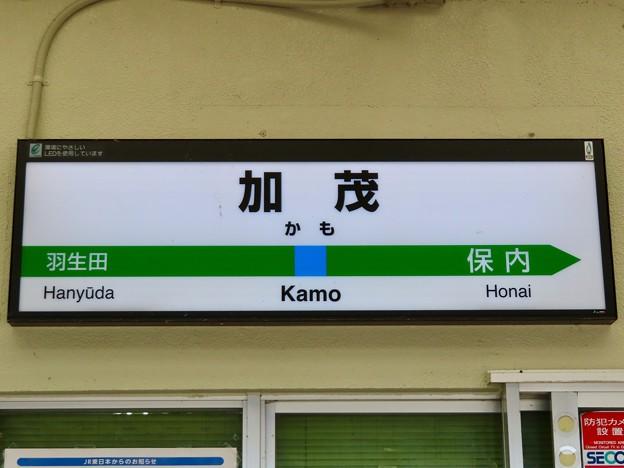 加茂駅 Kamo Sta.