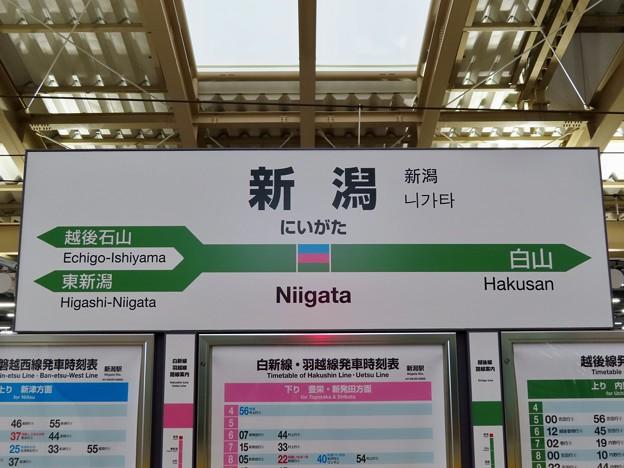 新潟駅 Niigata Sta.