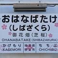 御花畑駅 OHANABATAKE Sta.