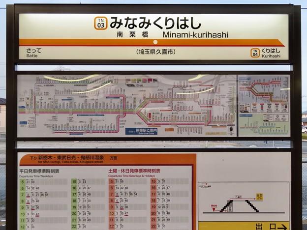 南栗橋駅 Minami-kurihashi Sta.