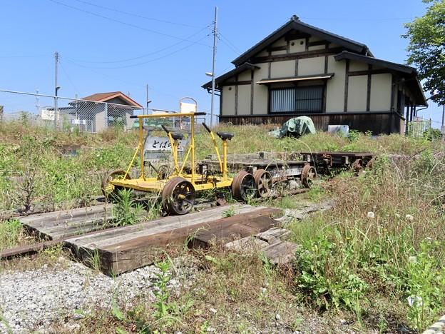騰波ノ江駅 トロッコ列車とばのえ支線