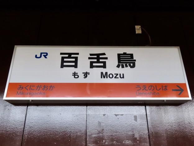百舌鳥駅 Mozu Sta.