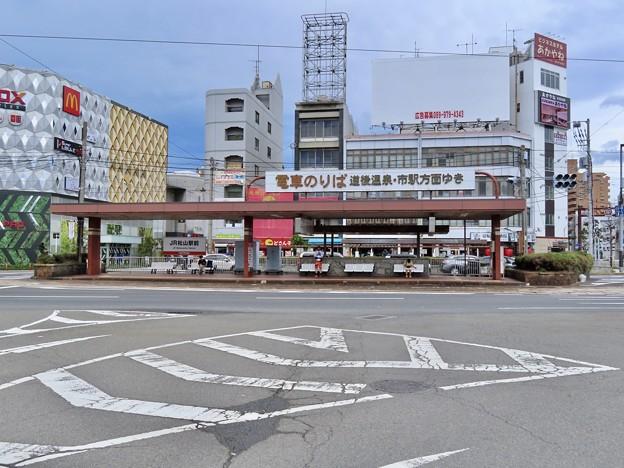 JR松山駅前停留場