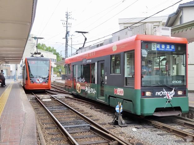 伊予鉄道モハ2100形&モハ5000形