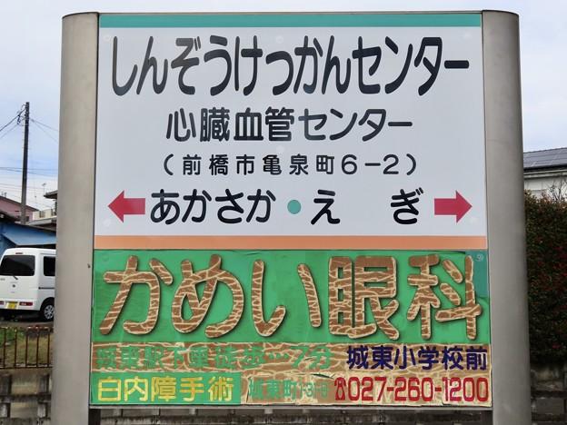 心臓血管センター駅 SHINZOKEKKAN-CENTER Sta.