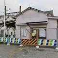 阿左美駅 新駅舎移転後の旧駅舎