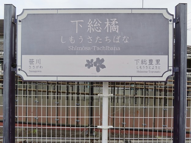 Photos: 下総橘駅 Shimosa-Tachibana Sta.