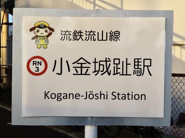 小金城趾駅 KOGANE-JOSHI Sta.
