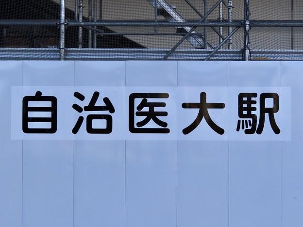 自治医大駅 Jichi Medical University Sta.