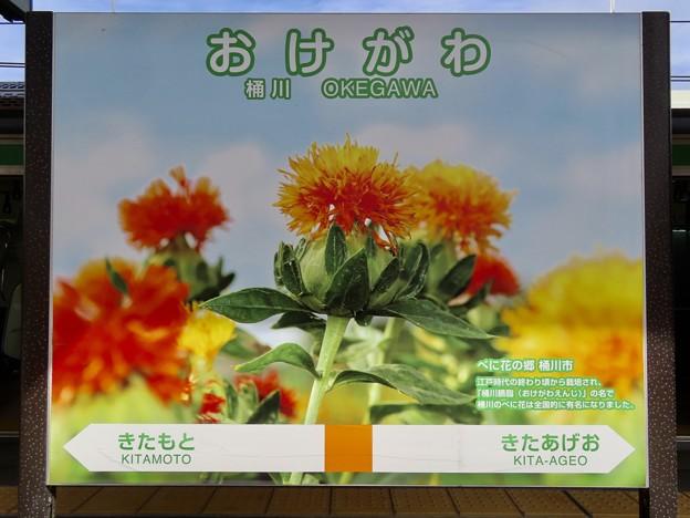 桶川駅 Okegawa Sta.