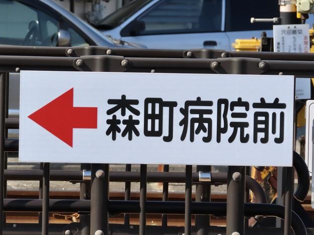 Photos: 森町病院前駅 MORIMACHIBYOIN-MAE Sta.