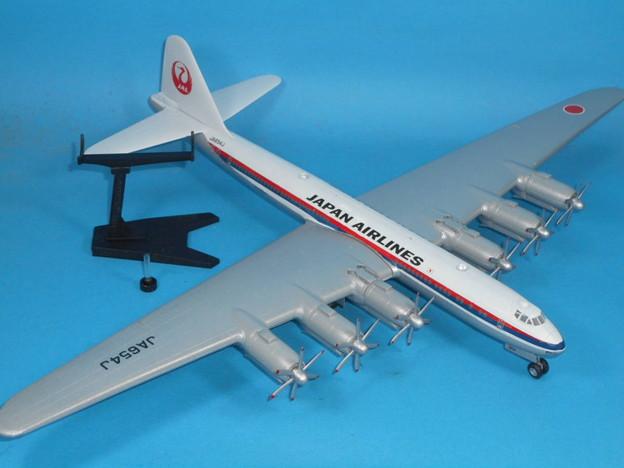 その1: 「富嶽」旅客機型 「日本航空」所属機 太平洋航路 羽田発、サンフランシスコ空港直行便 1947年