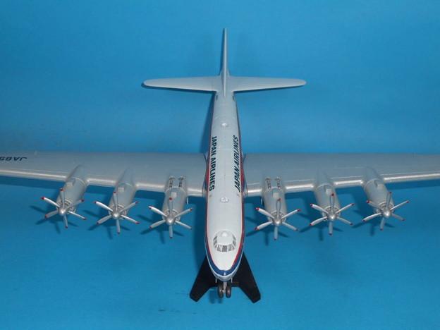 その3: 「富嶽」旅客機型 「日本航空」所属機 太平洋航路 羽田発、サンフランシスコ空港直行便 1947年
