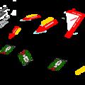 VF-8A 宇宙ローガン 専用デカールセット 1