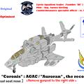【偵察専用・複座】(固定翼形態)VFH-10R コローニス