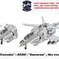 【ヘリコプター形態 】偵察型オーロラン VFH-10R コローニス