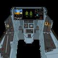 可変戦闘機 「VFH-10 オーロラン」 操縦パネル筐体