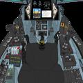 (Block 02 : 2031年) VFH-10B オーロラン 操縦席