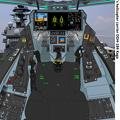 空母『加賀』艦上の可変戦闘機オーロラン