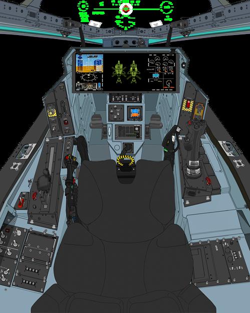 (ダ・ヴィンチ装置格納位置)可変戦闘機オーロラン
