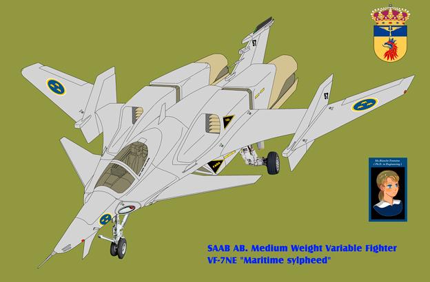 VF-7NE マリタイム・シルフィード 〔スウェーデン空軍〕
