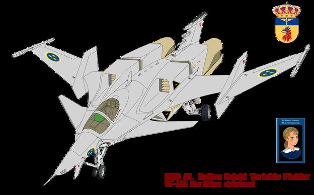 翼端ポッド付・VF-7NE マリタイム・シルフィード