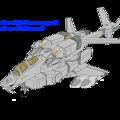 Photos: 偵察用複座(固定翼形態)VFH-10R コローニス (再制作)