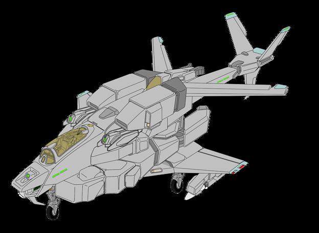 Photos: 固定翼形態 VFH-10C 単座オーロラン センサーポッド版